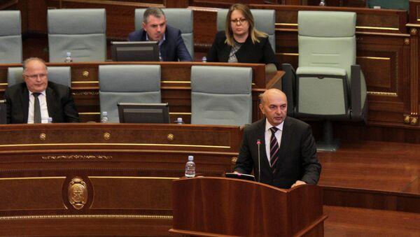 Isa Mustafa u parlamentu tzv. Kosova - Sputnik Srbija