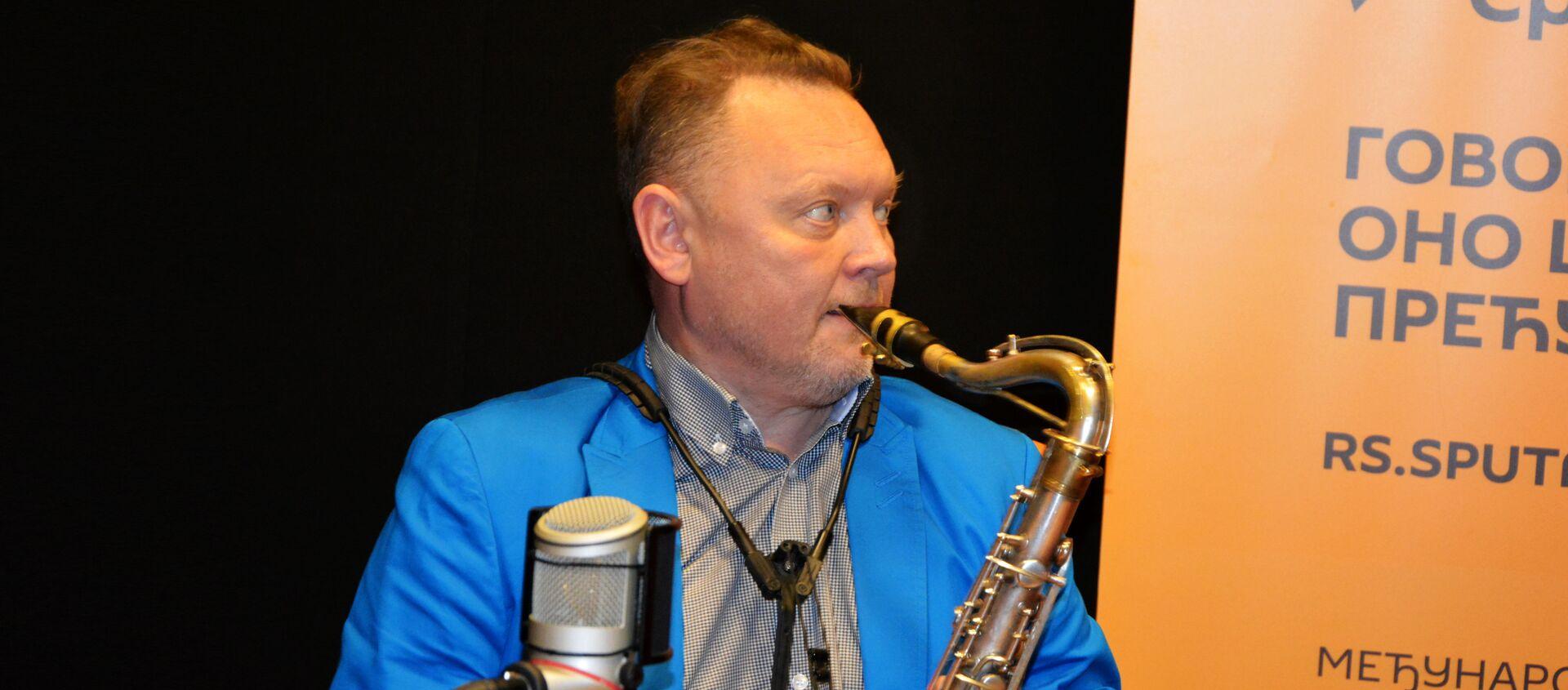 Ruski saksofonista Oleg Kirejev - Sputnik Srbija, 1920, 09.11.2017