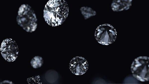 Kiša dijamanta - ilustracija - Sputnik Srbija