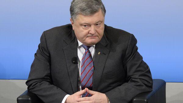 Президент Украины Петр Порошенко - Sputnik Србија