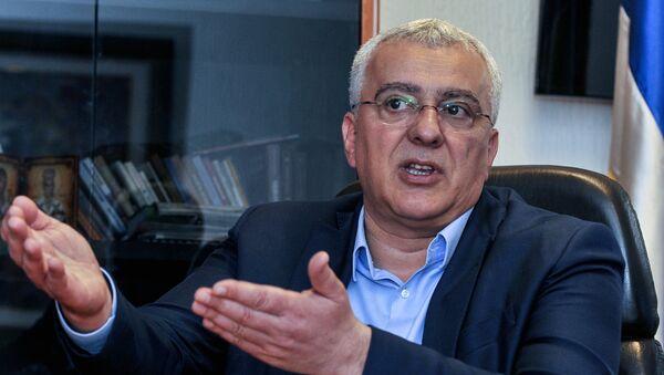 Lider opozicionog Demokratskog fronta Andrija Mandić - Sputnik Srbija