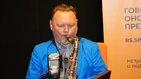 Ruski saksofonista Oleg Kirejev - Sputnik Srbija