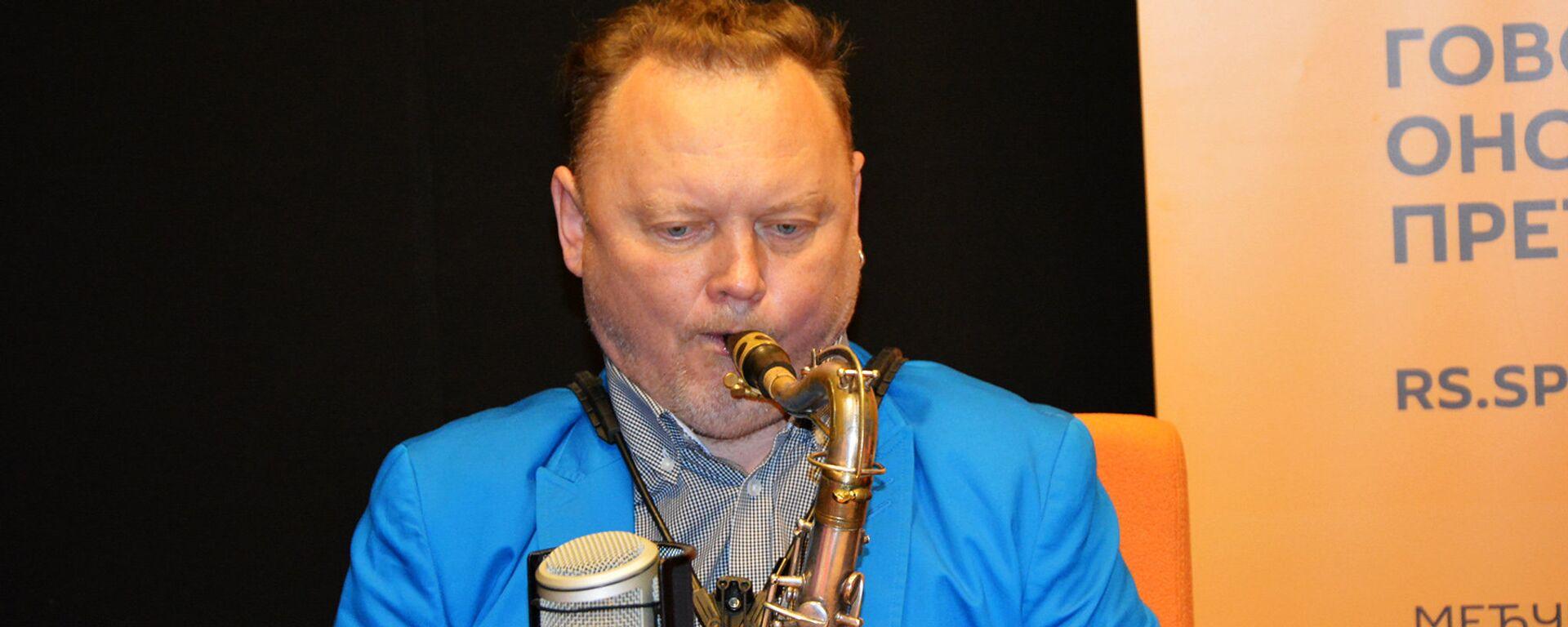 Ruski saksofonista Oleg Kirejev - Sputnik Srbija, 1920, 13.05.2017