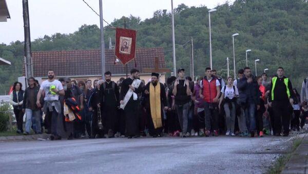 Hodočašće od Podgorice do manastira Ostrog - Sputnik Srbija