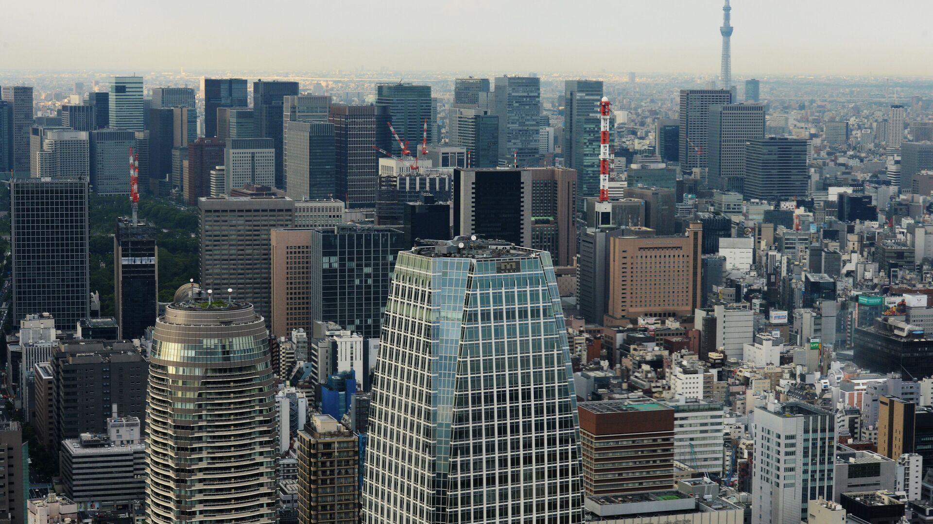 Panorama Tokija, glavnog grada jedne od najvećih ekonomskih sila sveta. - Sputnik Srbija, 1920, 07.10.2021