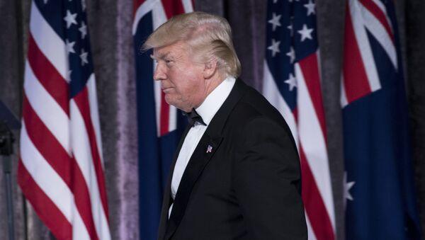 Президент США Дональд Трамп - Sputnik Србија