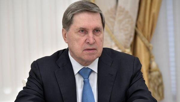Pomoćnik predsednika Rusije Jurij Ušakov - Sputnik Srbija