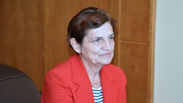 Danica Marinković istražni sudija Okružnog suda u Prištini 1999. godine rukovodila istragom slučaja u Račku.   - Sputnik Srbija