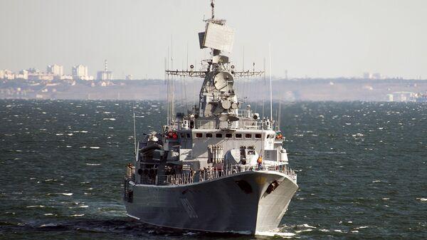 Ukrajinski brod Getman Sagajdačni - Sputnik Srbija