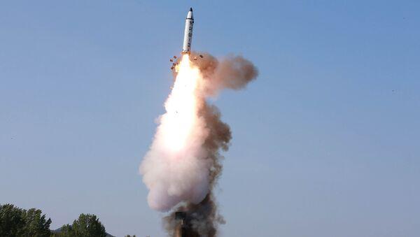 Лансирање севернокорејске балистичке ракете - Sputnik Србија