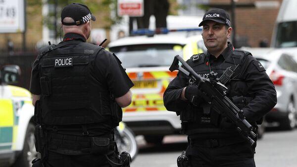 Pripadnici policije u centru Londona - Sputnik Srbija