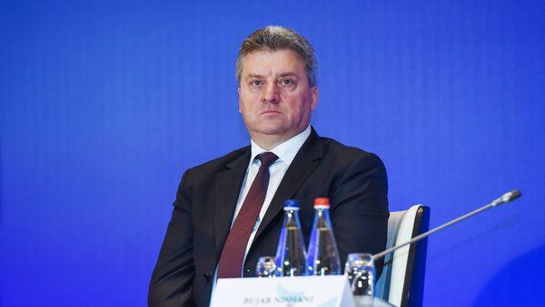 Predsednik Makedonije Đorđe Ivanov - Sputnik Srbija
