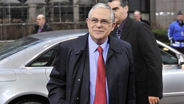 Bivši premijer Grčke Lukas Papadimos - Sputnik Srbija