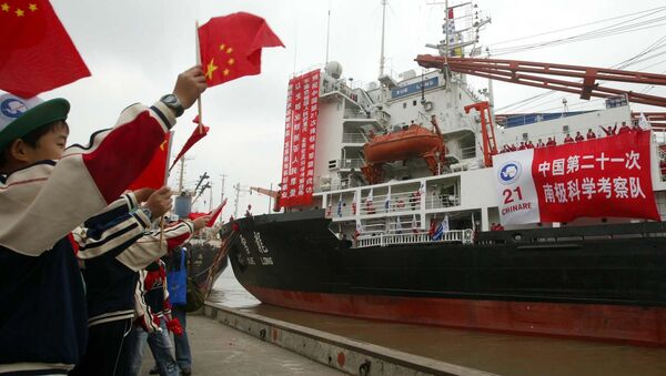 Kineski brod za ekspediciju na Antarktiku - Sputnik Srbija