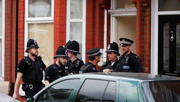Pripadnici britanske policije u Mančesteru - Sputnik Srbija