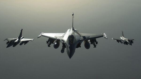 Francuski borbeni avioni Rafal idu prema Siriji - Sputnik Srbija