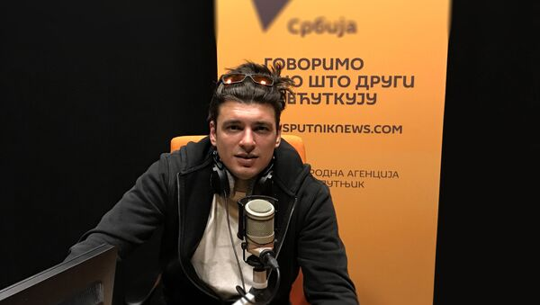 Глумац Андрија Кузмановић. - Sputnik Србија