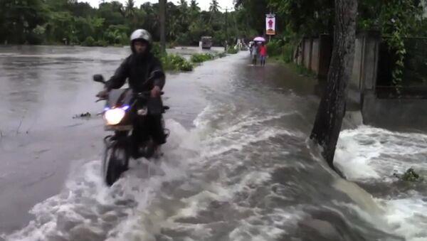 SERB_Наводнение в Шри-Ланке - Sputnik Србија