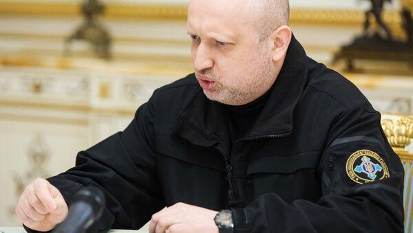 Секретар Савета националне безбедности Украјине Александар Турчинов - Sputnik Србија