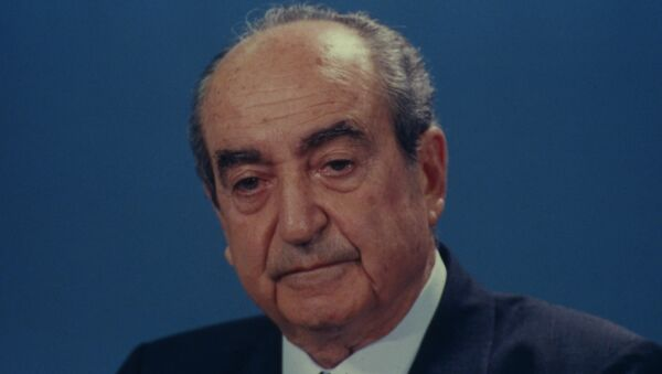 Bivši premijer Grčke Konstantin Micotakis. - Sputnik Srbija