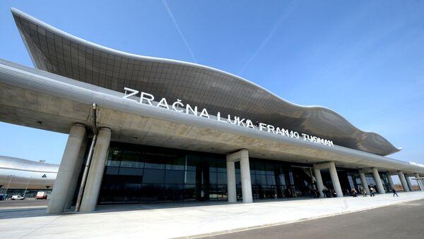Aerodrom Franjo Tuđman u Zagrebu - Sputnik Srbija