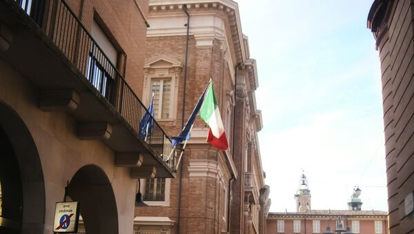 Italijanska zastava u Raveni - Sputnik Srbija