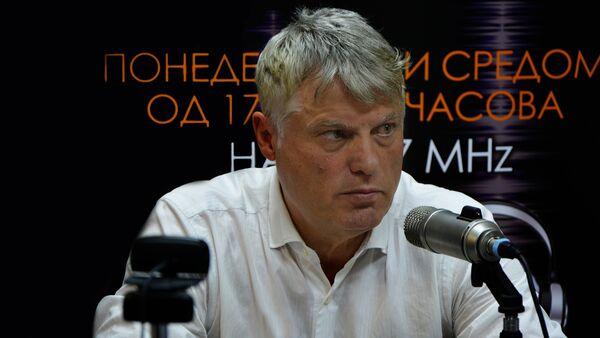 Новинар Миросалв Лазански - Sputnik Србија