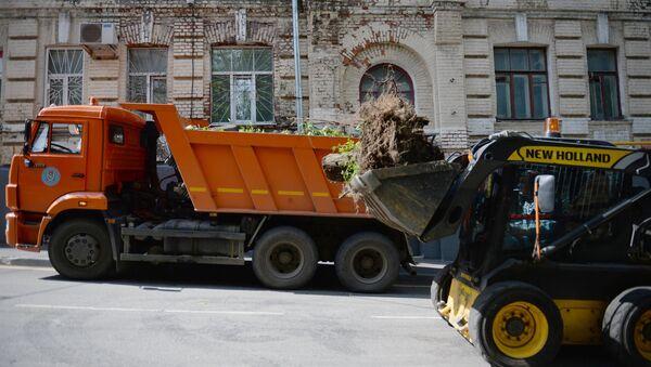 Uklanjanje posledica uragana - Sputnik Srbija