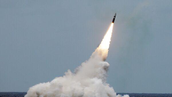 Američko testiranje rakete u Atlanskom okeanu - Sputnik Srbija