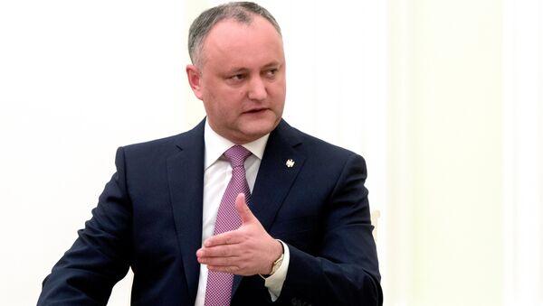 Predsednik Moldavije Igor Dodon - Sputnik Srbija