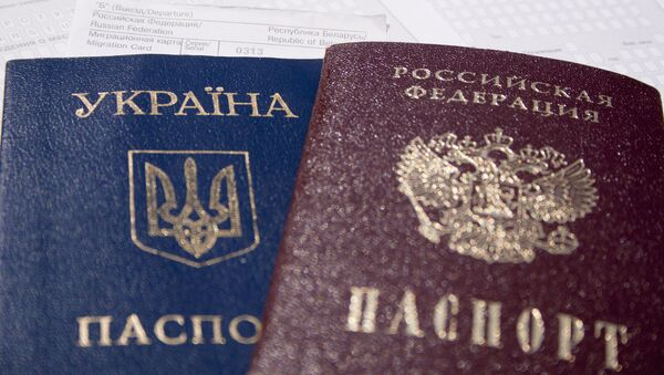 Ukraijnski i ruski pasoš - Sputnik Srbija