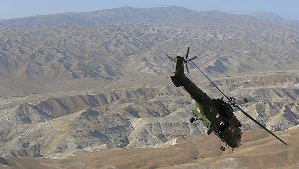 Helikopter Cougar AS 532 francuske avijacije tokom misije u Avganistanu - Sputnik Srbija
