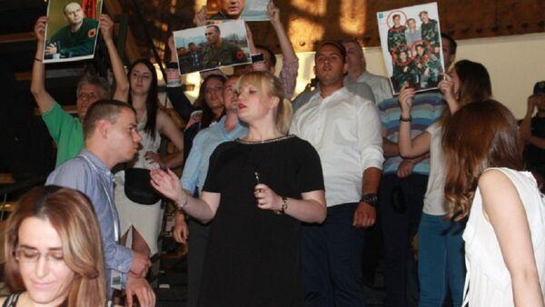 Protest Zavetnika povodom održavanja festivala Mirdita - dobar dan - Sputnik Srbija