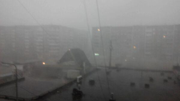 Serbia_Сильный ураган обрушился на Нижний Тагил. Съемка очевидца - Sputnik Србија
