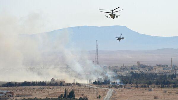 Хеликоптери Ка-52 Алигатор у Сирији - Sputnik Србија