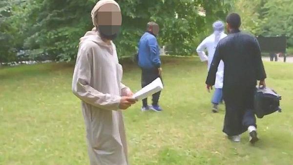 Терориста снимљен у парку у Лондону - Sputnik Србија
