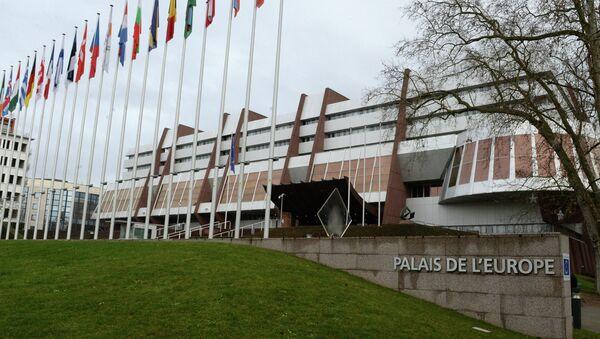 Зграда Парламентарне скупштине Савета Европе у Стразбуру - Sputnik Србија