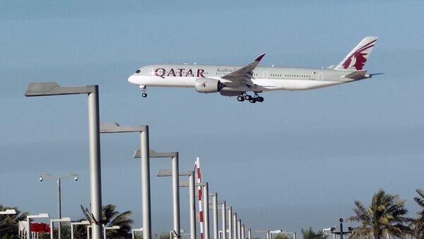 Avion Katar ervejza u Dohi - Sputnik Srbija
