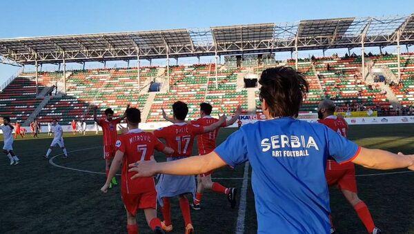 Утакмица Србија Израел у Москви - Sputnik Србија