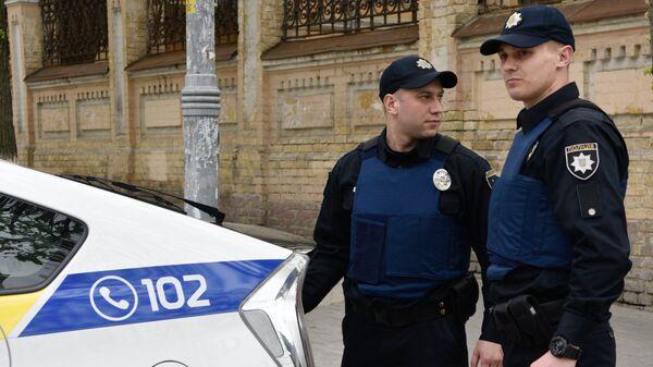Украјинска полиција у Кијеву - Sputnik Србија