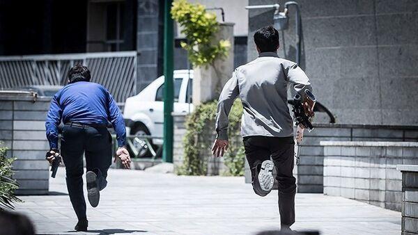 Iranske službe bezbednsoti posle napada na parlament u Teheranu, Iran - Sputnik Srbija