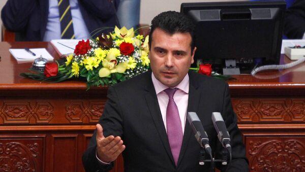 Premijer Makedonije Zoran Zaev - Sputnik Srbija