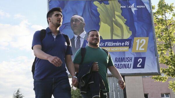 Избори на Косоову и Метохији, Приштина - Sputnik Србија