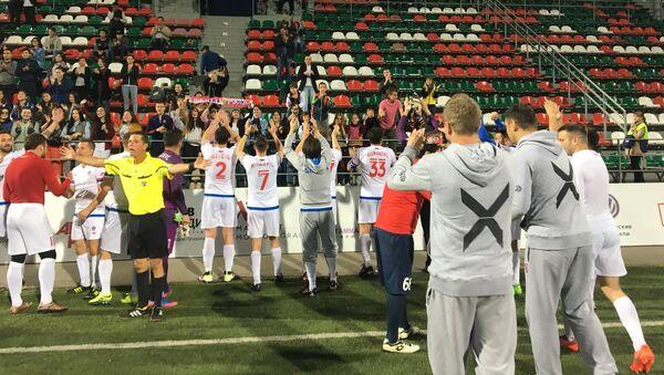 Reprezentacija Srbije slavi pobedu - Sputnik Srbija