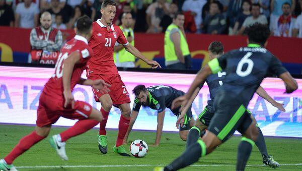 Утакмица, Србија-Велс - Sputnik Србија