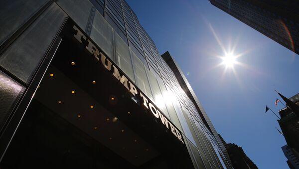 Pogled na Trampovu kulu u Njujorku - Sputnik Srbija