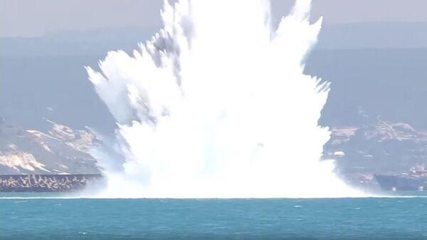 Експлозија бомбе из Другог светског рата - Sputnik Србија