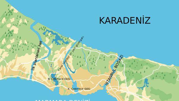 Пројекат Истанбулски канал - Sputnik Србија