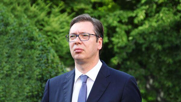 Predsedsnik Srbije Aleksandar Vučić - Sputnik Srbija