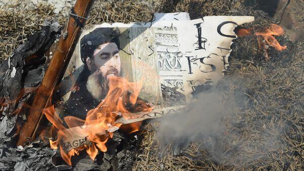 Vođa DAEŠ-a Abu Bakr el Bagdadi - Sputnik Srbija
